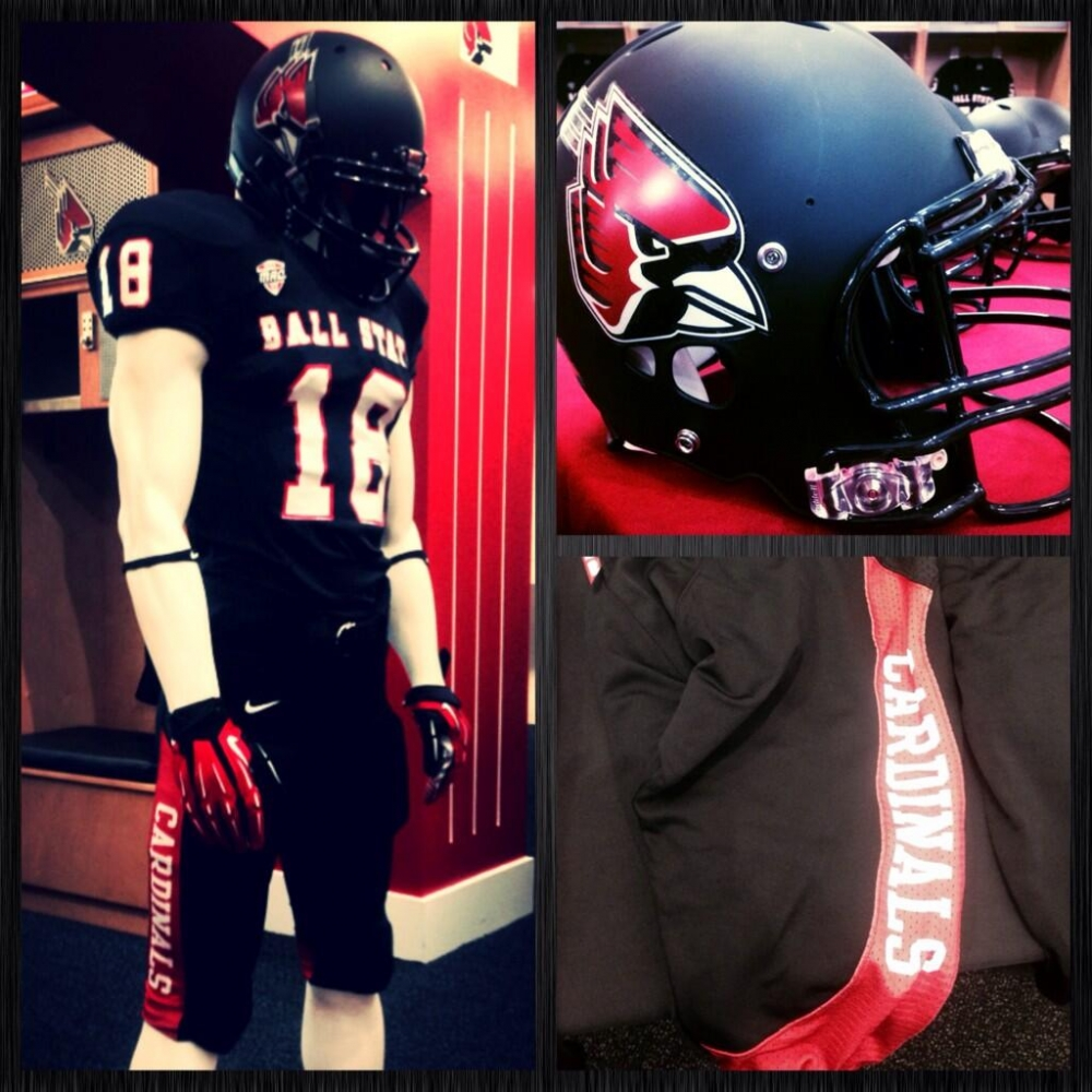 The Ball State Daily Football Cardinals Reveal New Jerseys