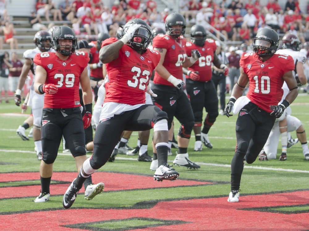 The Ball State Daily :: FOOTBALL: Ball State running game ...