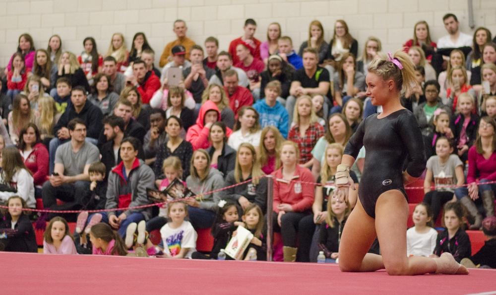The Ball State Daily Gymnastics Vs Western Michigan